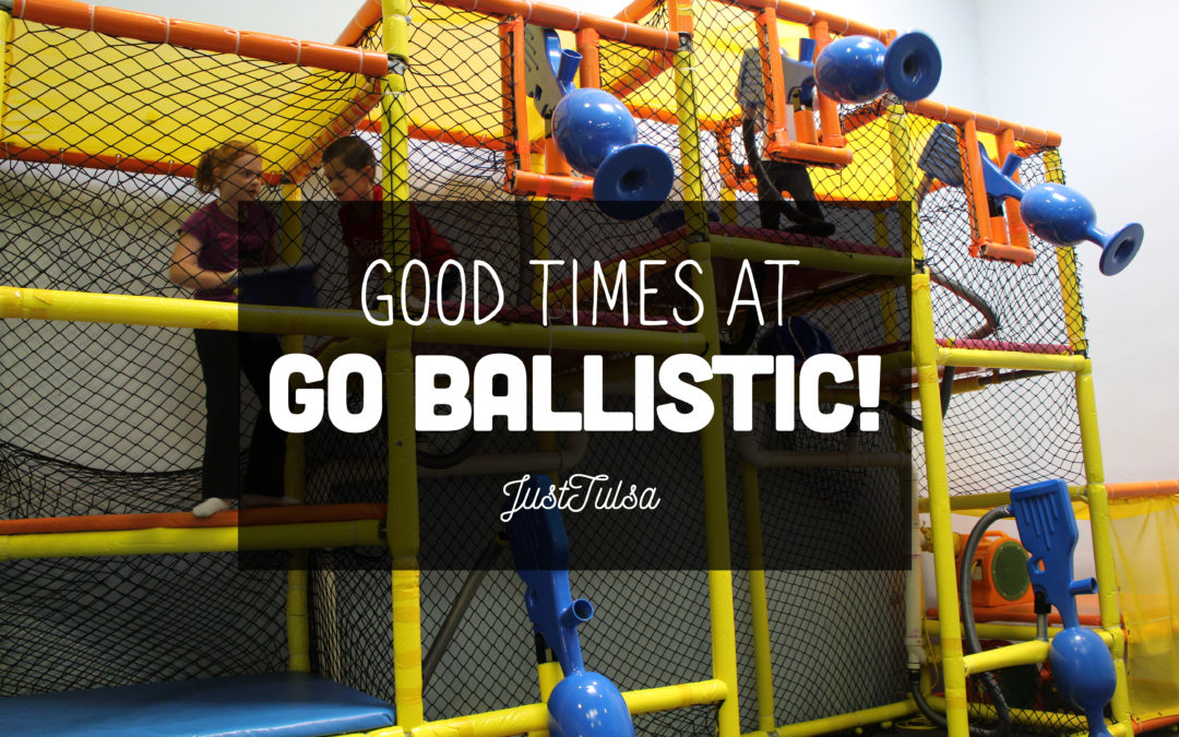 Looking for fun things to do with your kids in Tulsa? Check out Go Ballistic!