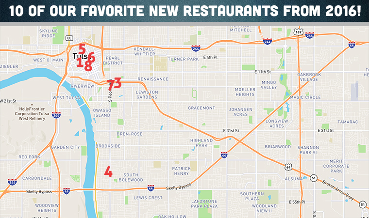 10 Of Our Favorite New Tulsa Restaurants In 2016