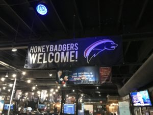 All honeybadgers are welcomed at Thrive15 headquarters in Jenks, OK