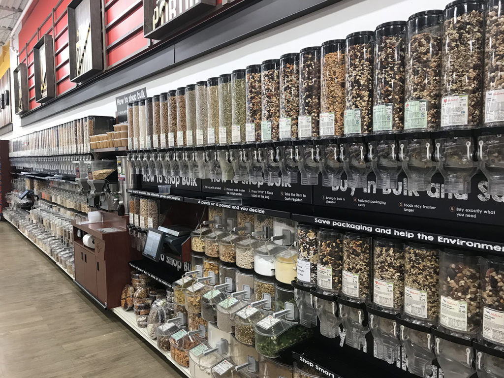 Bulk Nuts, Seeds, and Dried Fruits at Reasor's in Tulsa
