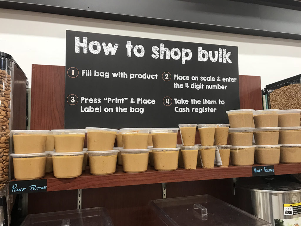 Fresh Ground Natural Peanut Butter at Reasor's in Tulsa